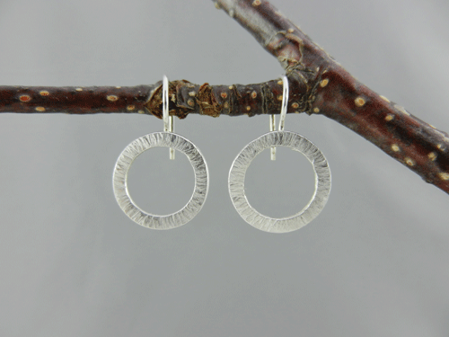 silvergold triple product gold plated hoop handcrafted earrings silver