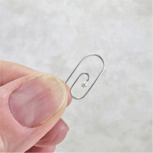 silver paper clip earrings, sleeper earrings, hypoallergenic earrings, sterling silver earrings, argentium silver earrings, tiny earrings, small drop earrings, nickel free silver earrings artisan earrings, handmade earrings, handcrafted earrings, everyday earrings, Zen earrings, casual earrings, comfortable earrings, simple earrings, modern earrings, minimalist earrings, lightweight earrings, Silver Echoes New Year's gift, Valentine's gift, birthday gift, Mother's Day gift, Christmas gift, Hanukah gift, Kwanza gift, wedding gift unique gift, gift for her, wife gift, gift for wife, bridesmaid gift, girlfriend gift, friendship gift, flower girl gift, wedding earrings, bridal earrings, bridesmaid earrings, flower girl earrings, mother of the bride earrings, bridal jewelry, wedding jewelry, bridal gift, bridal jewelry, wedding jewelry, mother of the bride earrings, mother of the bride gift