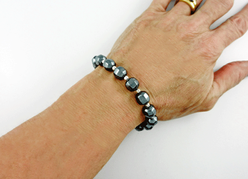 Hemae Bracelet Silver And Gemstone Jewelry
