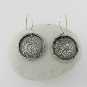 silver earrings, sterling silver earrings, artisan earrings, artisan silver earrings, artisan sterling silver earrings, handmade earrings, handmade silver earrings, handmade sterling silver earrings, handcrafted earrings, handcrafted silver earrings, handcrafted sterling silver earrings, argentium ear wires, argentium silver ear wires, argentium silver, geometric earrings, circle earrings, disc earrings, circular earrings, reticulated silver, reticulated sterling silver, reticulated discs, reticulated earrings, Reticulation Collection, reticulated silver earrings, reticulated sterling silver earrings, framed reticulated discs, framed reticulated silver