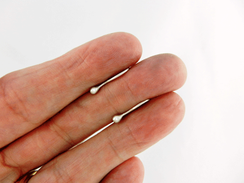 tiny dot, tiny earrings, piercing keepers, silver earrings, sleeper earrings, sterling earrings, sterling silver earrings, argentium earrings, argentium silver earrings, silver piercing keepers, tiny silver earrings, Silver Echoes, small drop earrings, lightweight earrings, minimalist earrings, handcrafted earrings, handcrafted silver earrings, handcrafted sterling earrings, handcrafted sterling silver earrings, artisan earrings, silver artisan earrings, sterling artisan earrings, sterling silver artisan earrings, handmade earrings, handmade silver earrings, handmade sterling earrings, handmade sterling silver earrings, tiny earrings, tiny silver earrings, everyday earrings, Mother's Day gift, birthday gift, Christmas gift, Valentines gift, gifts for her, simple earrings, simple silver earrings, modern earrings, modern silver earrings, lightweight silver earrings