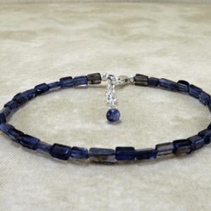 iolilte bracelet, silver bracelet, blue bracelet, sterling bracelet, gemstone bracelet, layering bracelet, slim bracelet, thin bracelet, crystal bracelet, beaded bracelet, Reiki bracelet, wire wrapped bracelet, wire wrapped jewelry, Silver Echoes, gemstone jewelry, iolite jewelry, blue jewelry, sterling jewelry, silver jewelry, layering jewelry, crystal jewelry, beaded jewelry, Reiki jewelry, chakra bracelet, chakra jewelry, crystal jewelry, lightweight bracelet, energy bracelet, energy bracelet, power bracelet, power jewelry, healing bracelet, healing jewelry, artisan bracelet, handmade bracelet, handcrafted bracelet, birthday gift, Valentines gift, Mother's Day gift, Christmas gift, gift for her, bridesmaid gift