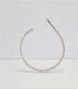 Silver Earrings ~ Beaded Hoop Earrings ~ Post Earrings ~ Stud Hoops ~ Sterling Earrings ~ Stud Earrings ~ Lightweight Earrings ~ Zen Earrings 3