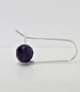 Amethyst Earrings ~ Dangle Earrings ~ February Birthstone Earrings ~ Zen Earrings ~ Purple Earrings ~ Gemstone Earrings ~ Drop Earrings 3