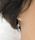 Silver Earrings ~ Sleeper Earrings ~ Minimalist Earrings ~ Modern Earrings ~ Lightweight Earrings ~ Everyday Earrings ~ Small Drop Earrings 2