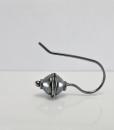 Silver Earrings ~ Sleeper Earrings ~ Minimalist Earrings ~ Modern Earrings ~ Lightweight Earrings ~ Everyday Earrings ~ Small Drop Earrings 3