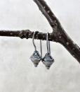 Silver Earrings ~ Sleeper Earrings ~ Minimalist Earrings ~ Modern Earrings ~ Lightweight Earrings ~ Everyday Earrings ~ Small Drop Earrings 5