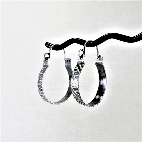 small sterling silver hoop earrings, silver earrings, sterling earrings, nickel free ear wires, argentium ear wires, artisan earrings, dangle earrings, drop earrings, minimalist earrings, lightweight earrings, comfortable earrings, everyday earrings, hypoallergenic earrings, boho earrings, gypsy earrings, bohemian earrings, modern earrings, artisan earrings, handcrafted earrings, handmade earrings, go to earrings, hippy earrings, Silver Echoes bridal jewelry, bridal earrings, wedding jewelry, wedding earrings, bridesmaid gift, bridesmaid earrings, bridesmaid jewelry, wedding gift, anniversary gift, birthday gift, Christmas gift, Valentine's gift, Mother's Day gift, Hanukah gift, Kwanza gift, gifts for her, gift for wife, jewelry for women, unique earrings for her